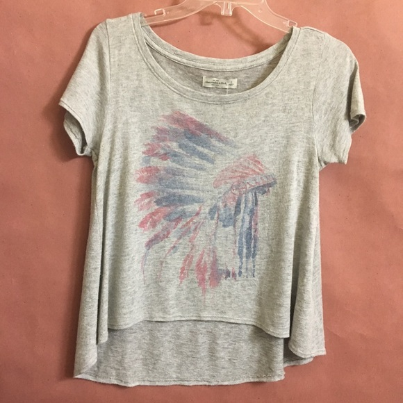 8197cbe5835c Abercrombie & Fitch Tops | Native American Printed Tee Abercrombie ...